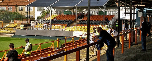 Barnet FC: A Personal Narrative, Homing Issues and Edgar Davids