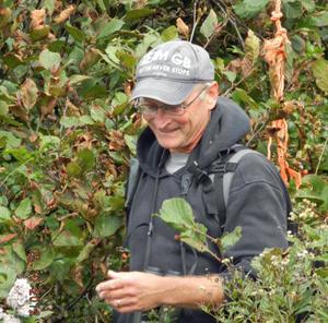 Nova Scotia birder David Currie