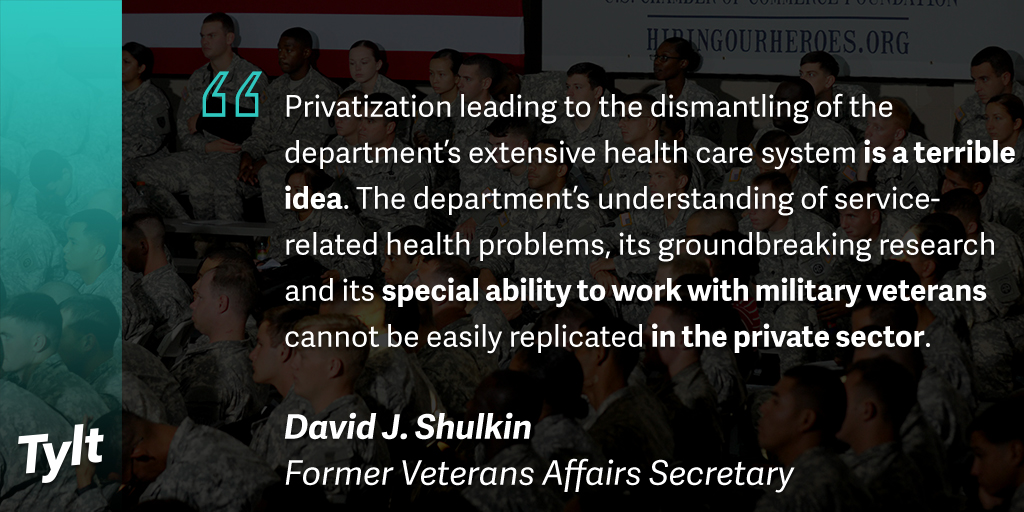 Should we privatize the Department of Veterans Affairs ...