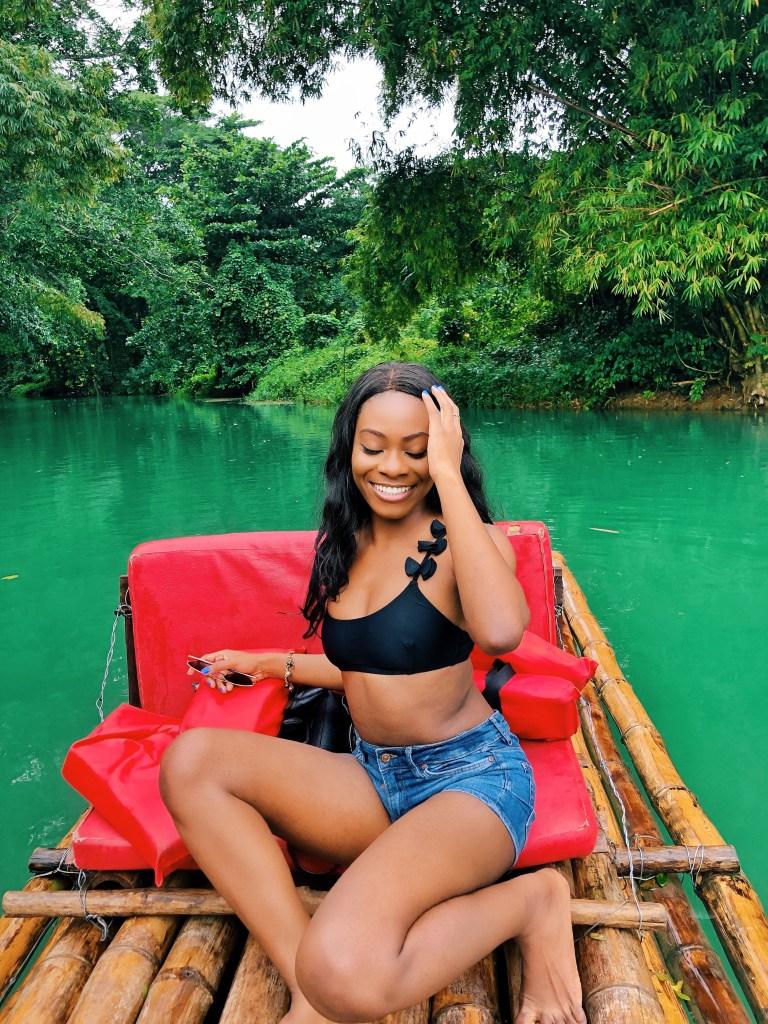 One fine day in Martha Brae, Jamaica