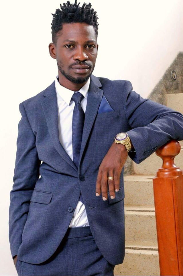 Mr Kyagulanyi Ssentamu a.k.a Bobi Wine