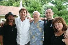 My kids in 2011-(LR Rod, Mark, me, Michael & Helen)