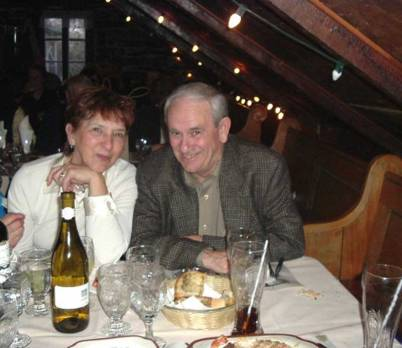 My brother ben and his wife Gail