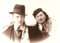 My birth father and mother, Percy & Cecelia - Circa 1945