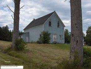 The one room schoolhouse at McKinnon's Harbor. Grades 1-8