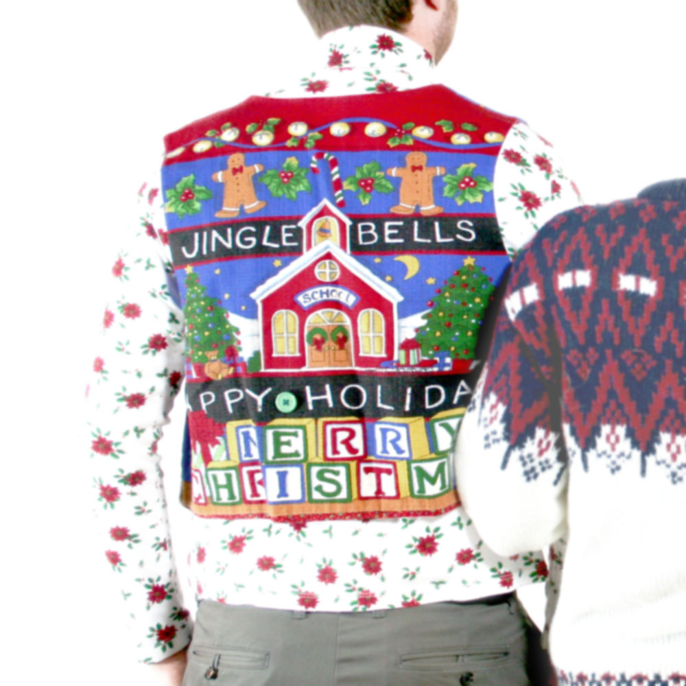 DIY No Lesson Plan Teacher Ugly Christmas Vest The Ugly