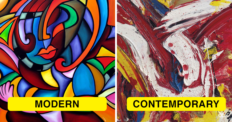 This Is The Difference Between 'Modern' And 'Contemporary' Art - I'm A  Useless Info Junkie