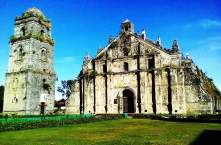 The Fascinating View of Paoay Church