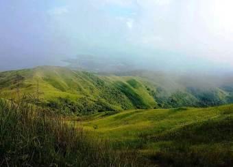 Grassland and ridges