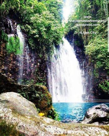 The Majestic Tinago Falls.