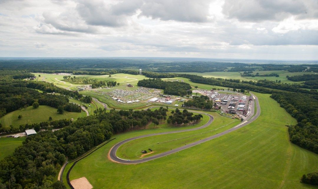 VIRginia International Raceway - Aerial 10 - credited to Victor Newman