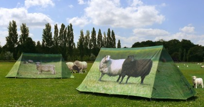 Printed Tents from Field Candy - Animal Farm