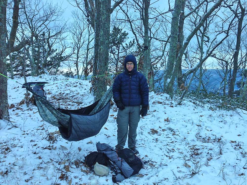Winter Hammock Camping by Alan Dixon
