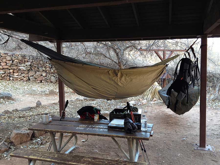 Hammock Camping In The Grand Canyon
