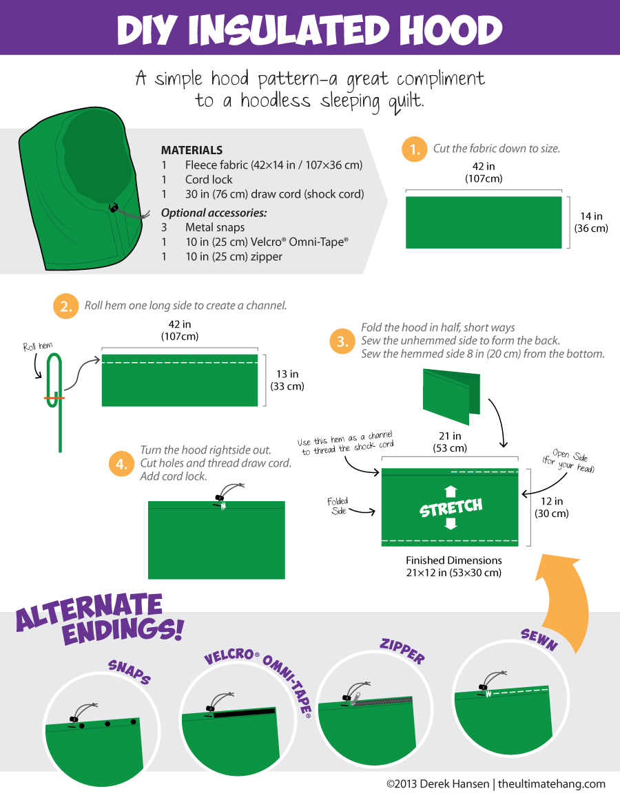 DIY Insulated Hood Pattern – The Ultimate Hang