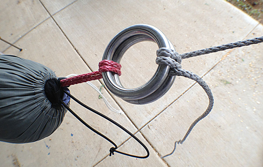 hammock suspension descender rings hammock suspension with descender rings and garda hitch   the      rh   theultimatehang