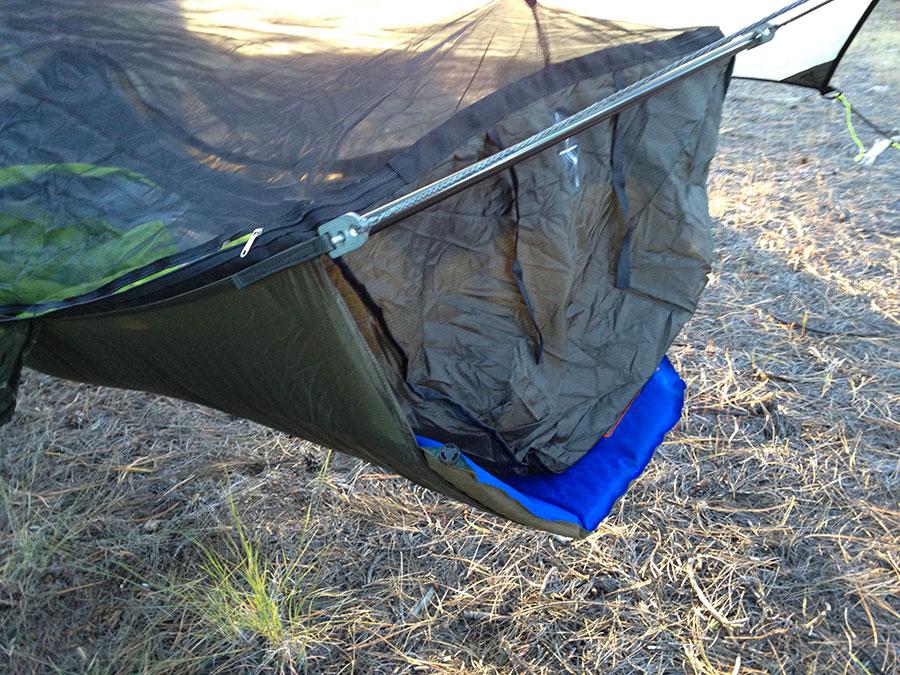 warbon  ridgerunner padsleeve warbon  ridgerunner bridge hammock review   the ultimate hang  rh   theultimatehang