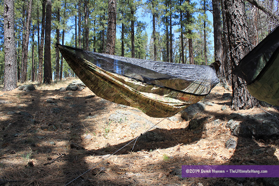 The Warbonnet Blackbird hammocks can be ordered with either a single or double layer depending on user preference.