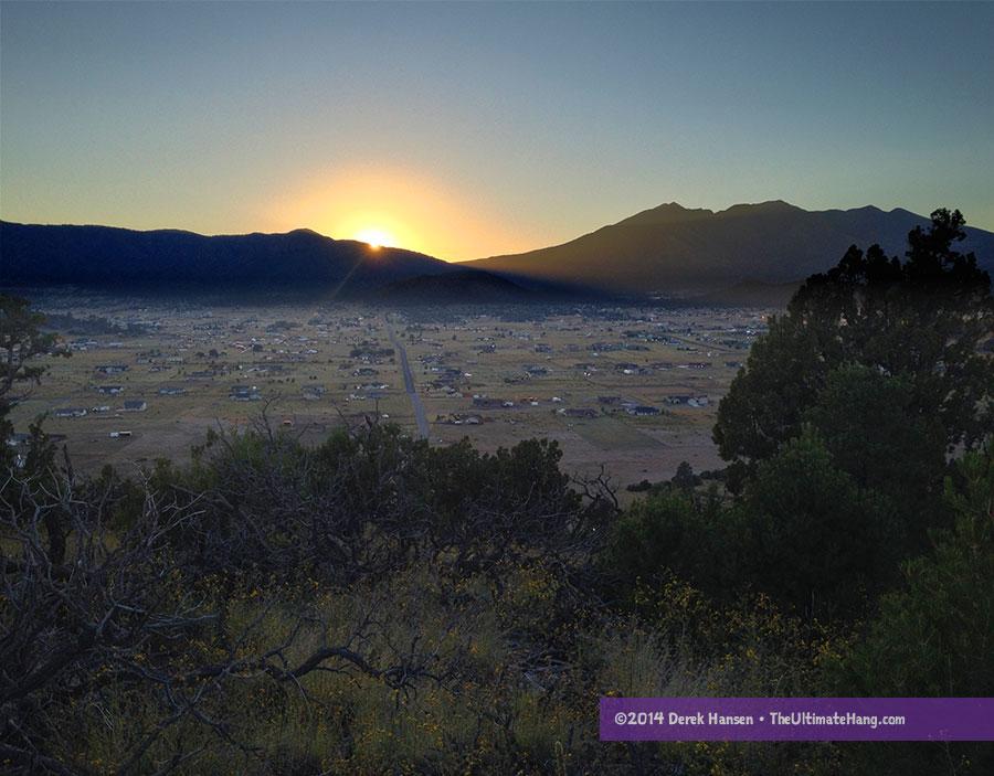micro-adventure-cinder-hill-sunset