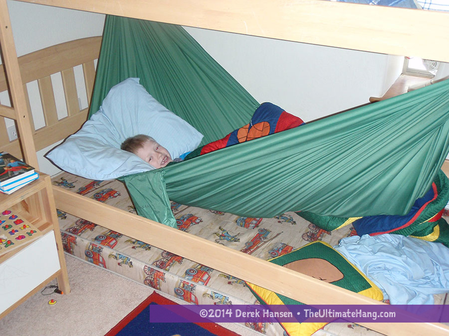 Indoors Hammock In A Bunk Bed The Ultimate Hang