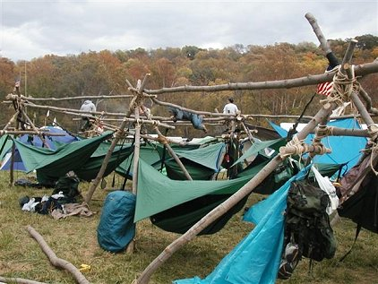 Integrating Hammock Camping into your Scout Troop  The