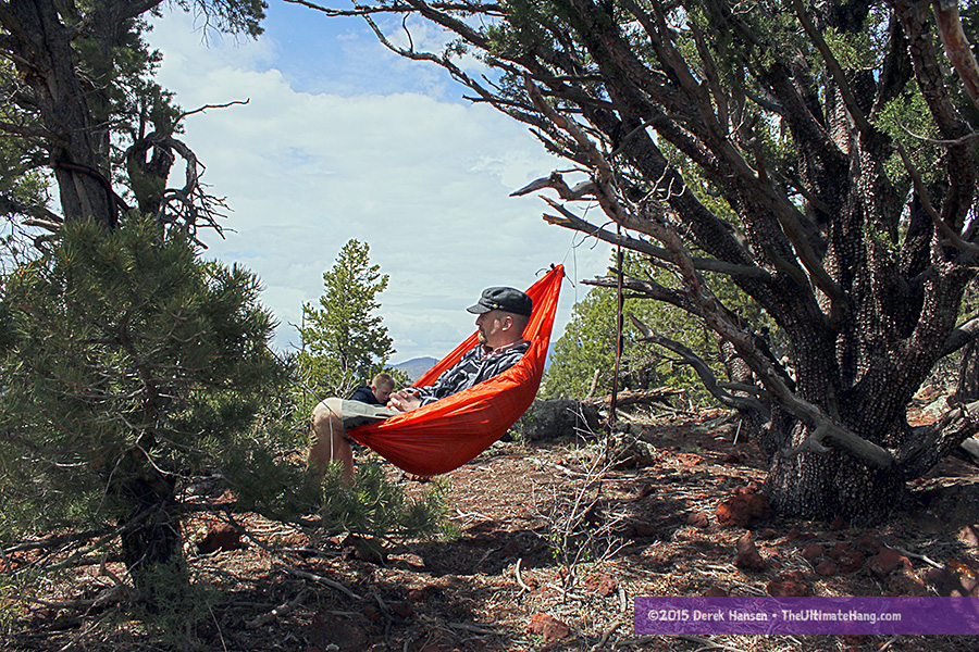 the ultimate backpacking chair the many uses of a gear hammock   the ultimate hang  rh   theultimatehang