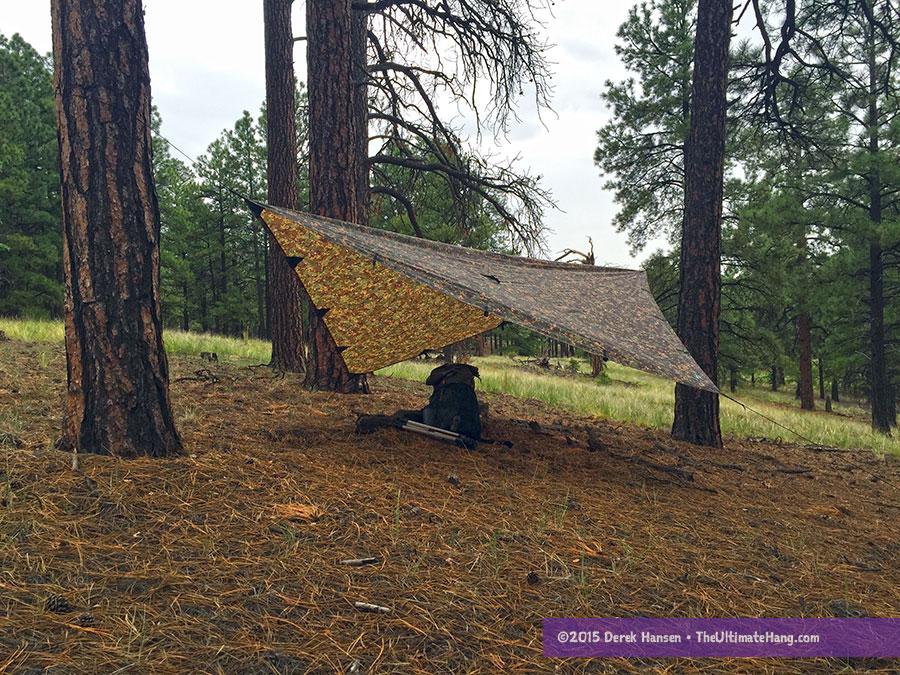 dd tarp 3x3 mc review choosing a tarp for a hammock   the ultimate hang  rh   theultimatehang
