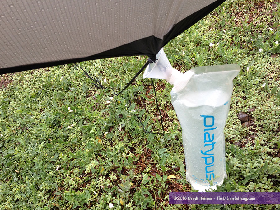hennessy water collector full bottle hennessy hammock water collector review   the ultimate hang  rh   theultimatehang