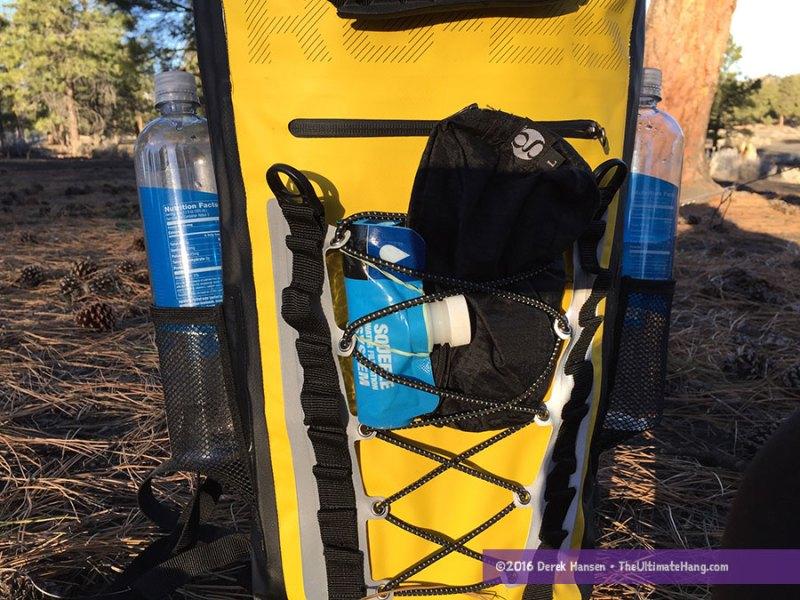 rockagator pack RG-25 exterior pockets