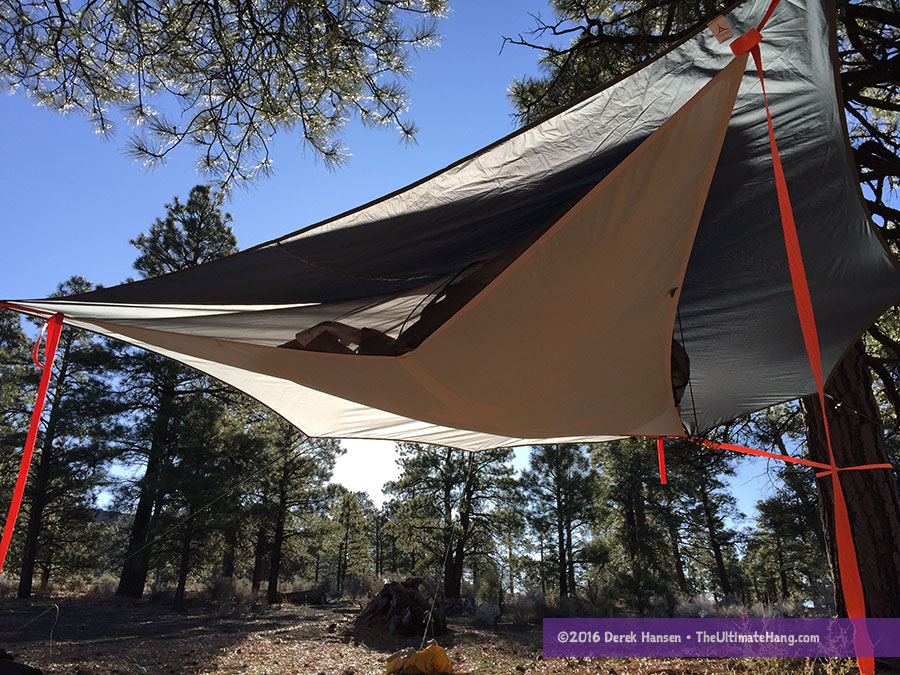 tentsile-flite-underbelly & Tentsile Flite Tree Tent Review - The Ultimate Hang