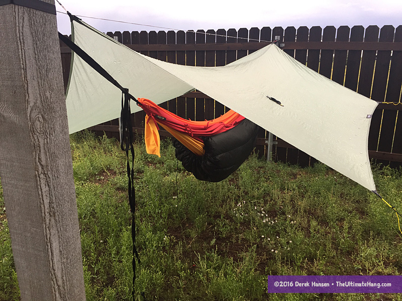while this is not my preferred method to string up a hammock it has some benefits especially how the ar u2022ya is designed to be opened up and lay flat     ar u2022ya hammock review   the ultimate hang  rh   theultimatehang