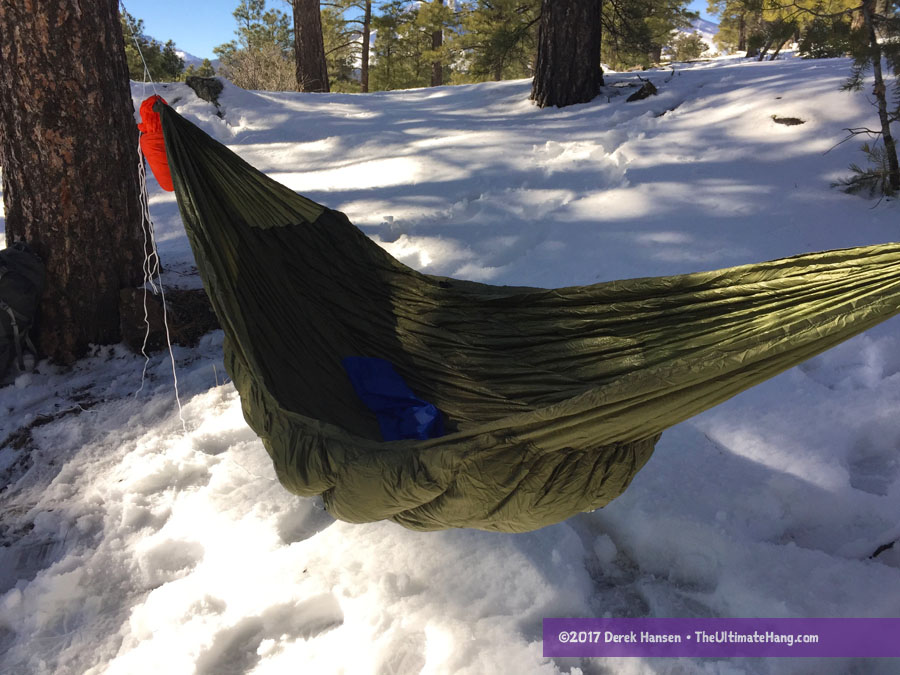 review warbonnet outdoors wooki underquilt the ultimate hang