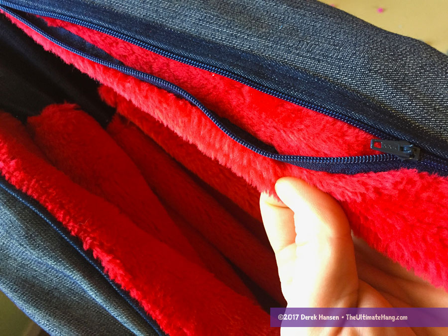 aesthetically the hammock has very few visible flaws  the stitching is good and the finished product is well done  however the jean canvas appears to be     review  bean bag hammock   the ultimate hang  rh   theultimatehang