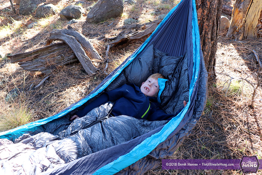Review - Gear Hackers Evolution Insulated Hammock