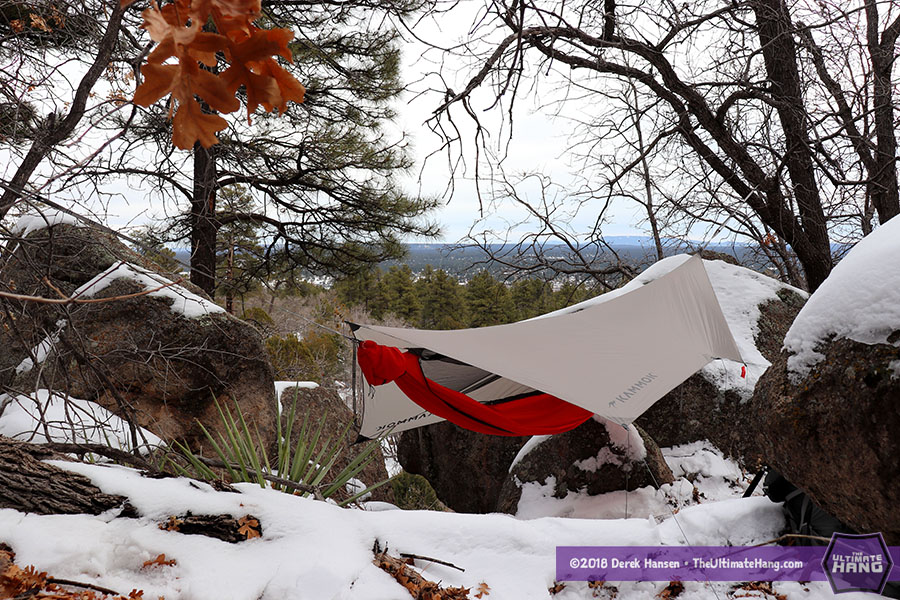First Look: KAMMOK Mantis UL All-in-one Hammock