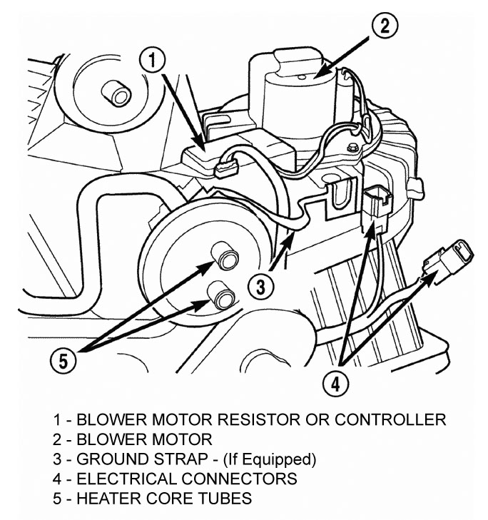 Service manual [How To Replace 2010 Jeep Patriot Blower