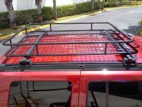 Rage Cargo Basket Installed