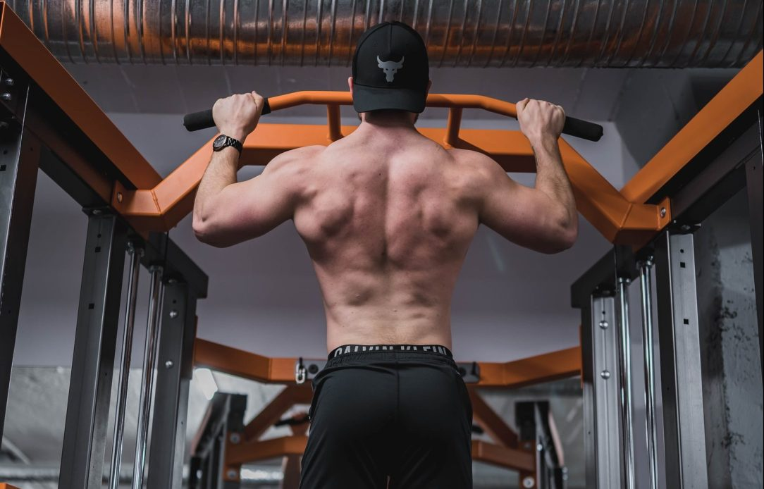 Build that back with pull-ups
