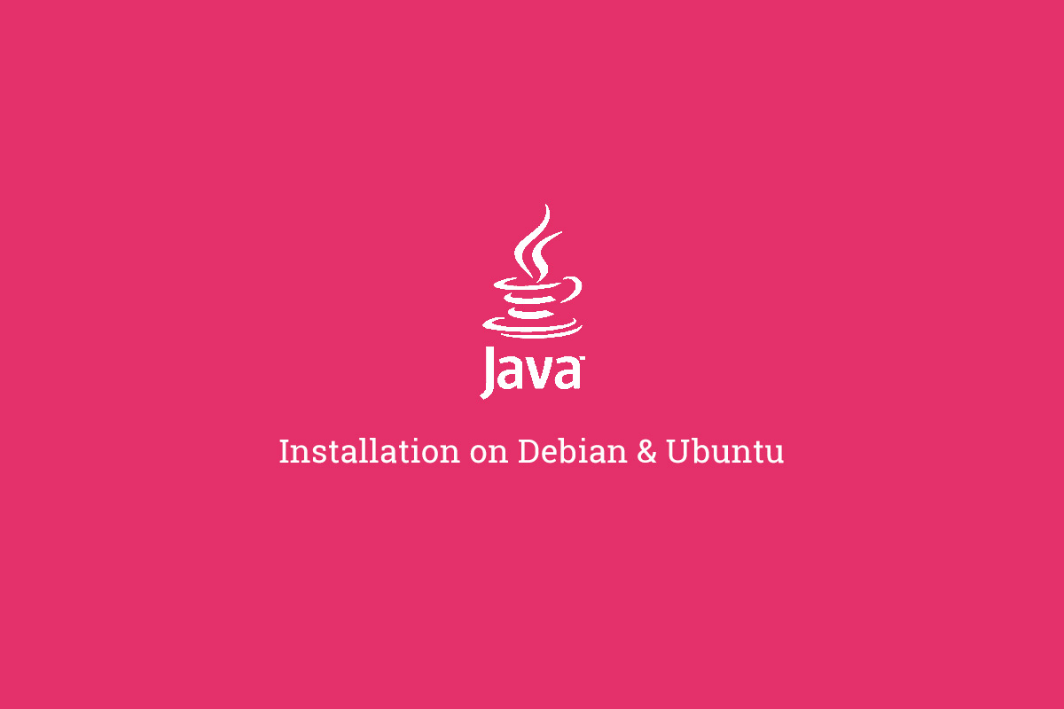 How to install Java 8 on Debian or Ubuntu