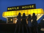 Semiformal dinner at the Waffle House