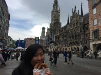 Feeling German eating a brezn