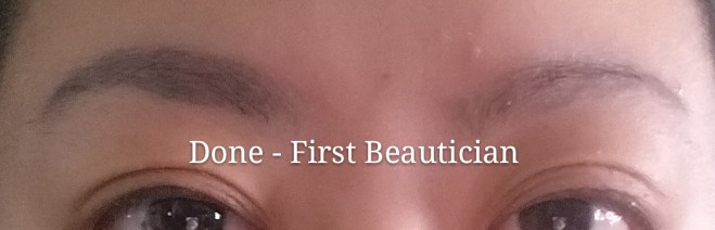 Done - First Beautician