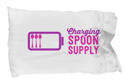 charging spoon supply pillowcase