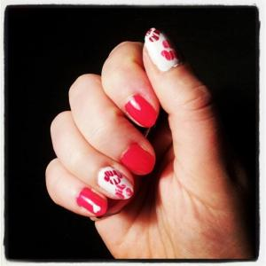 chronic pain nail art