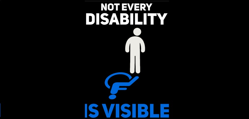 not every disabiliy is visible