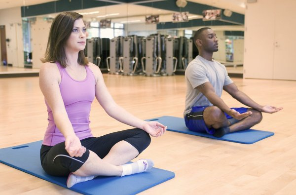 Yoga reliefs stress and anxiety