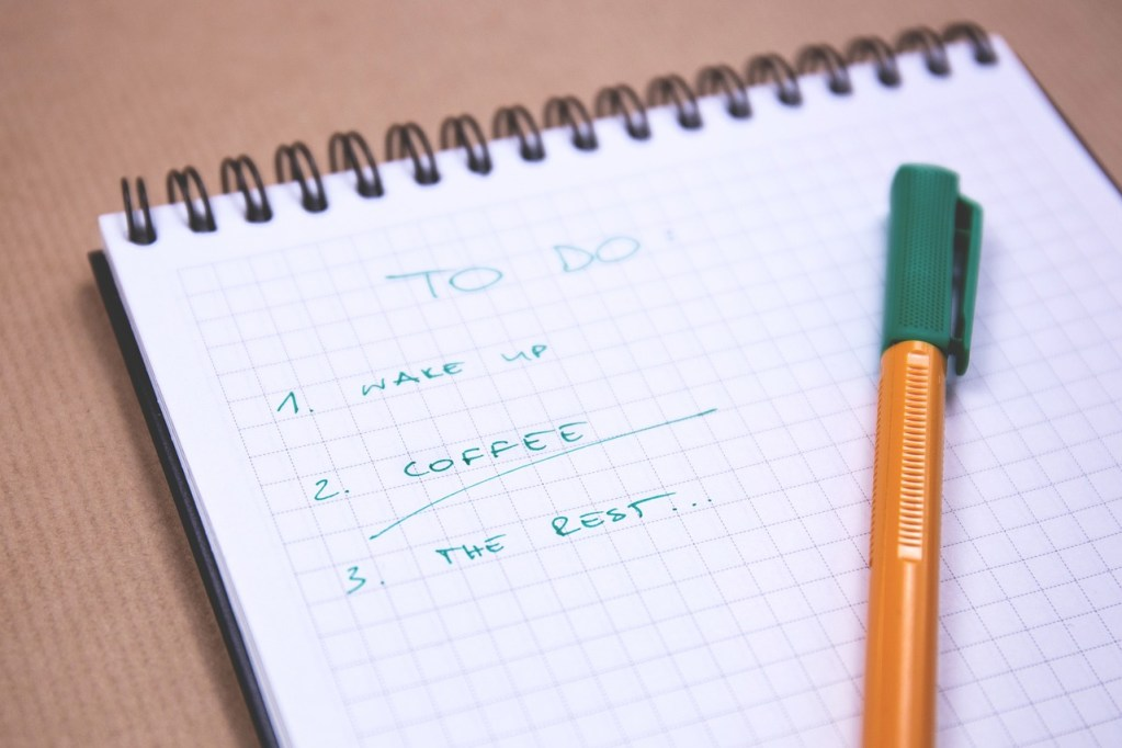Prioritize your to do list to ensure you can accomplish your most important work first. Don't forget to prioritize your self care as well when living with chronic pain.