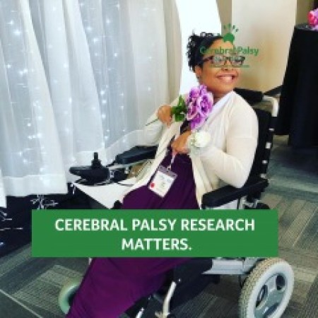 Why Cerebral palsy awareness is important (picture of Tylia Flores, Author)
