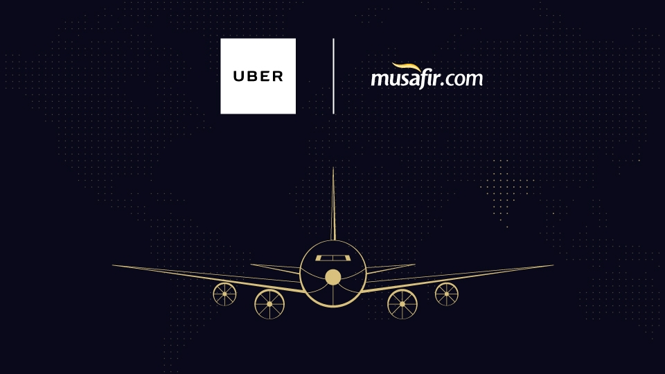 Take your love up in the air with Uber and Musafir.com's collaborated marketing strategy