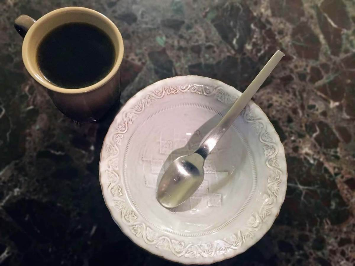 my breakfast during my 3 day fast